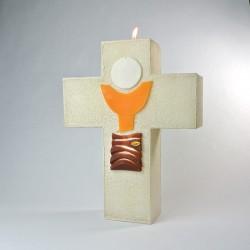 Cierge-Croix d'Autel Communion
