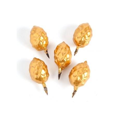 Clous encens/5 forme pomme de pin