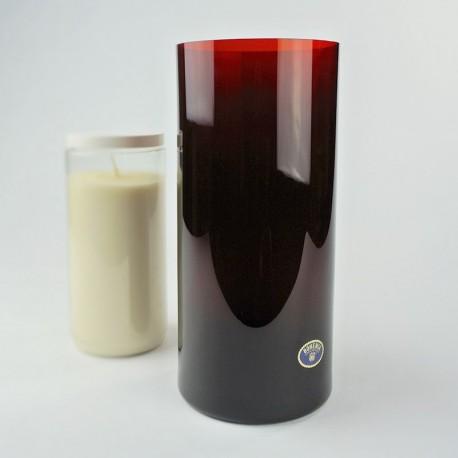 Verre rouge pour huile