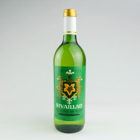 Vin blanc demi-sec Sivaillan 75cl