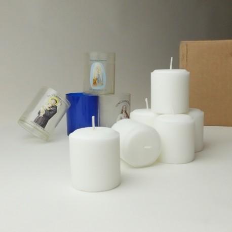 Carton 84 recharges pour veilleuse n°36 godet plastique