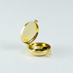 Custode en laiton doré 40mm