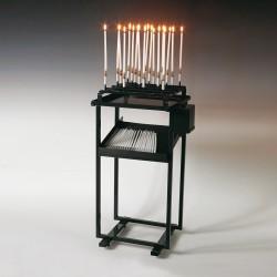 Table d'offrande PM 18 cierges